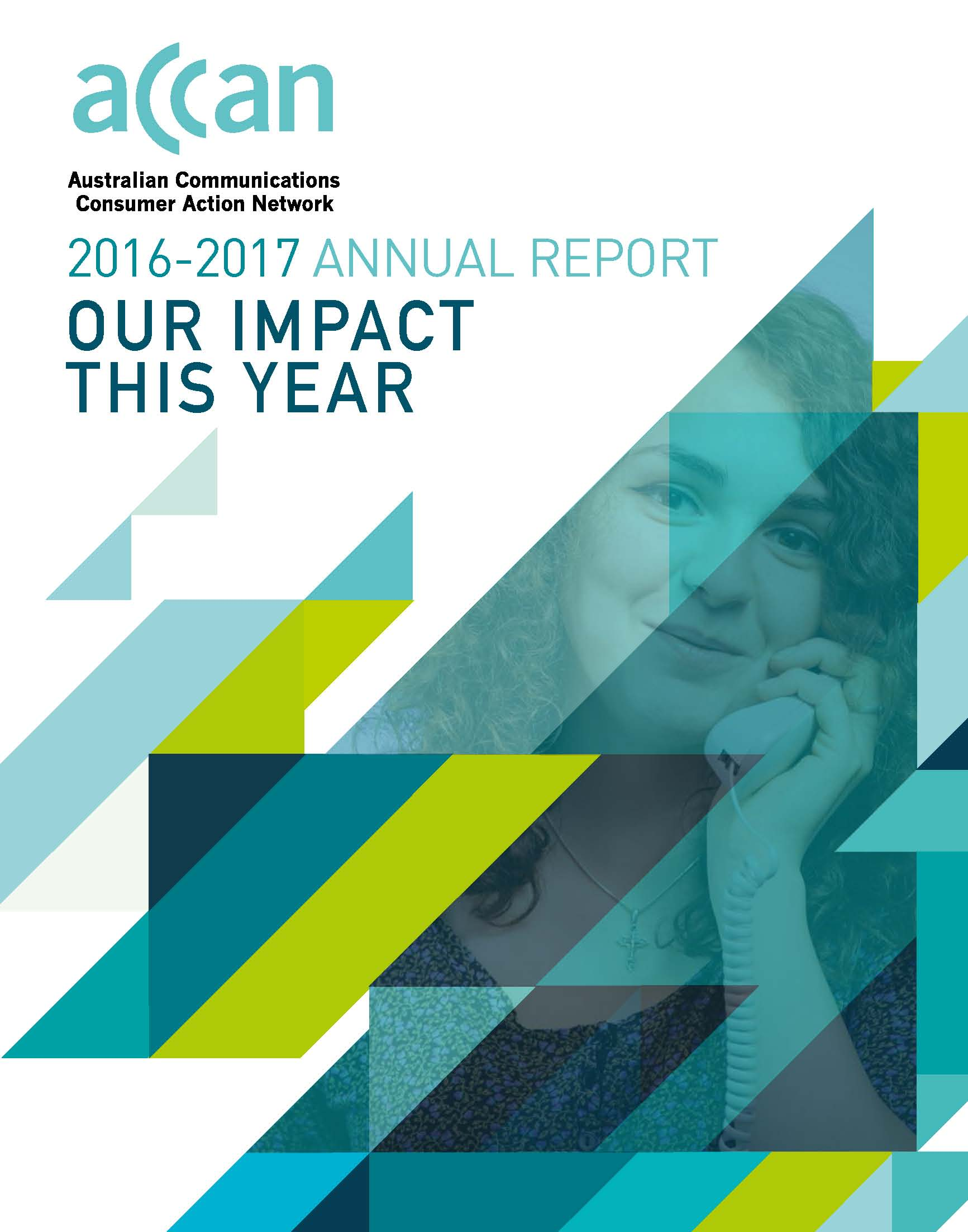 ACCAN Annual Report cover