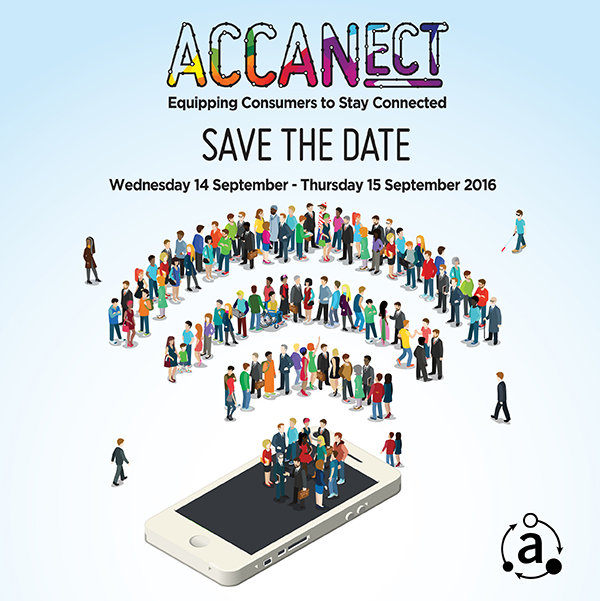 Save the date for the ACCAN National Conference 2016: ACCANect