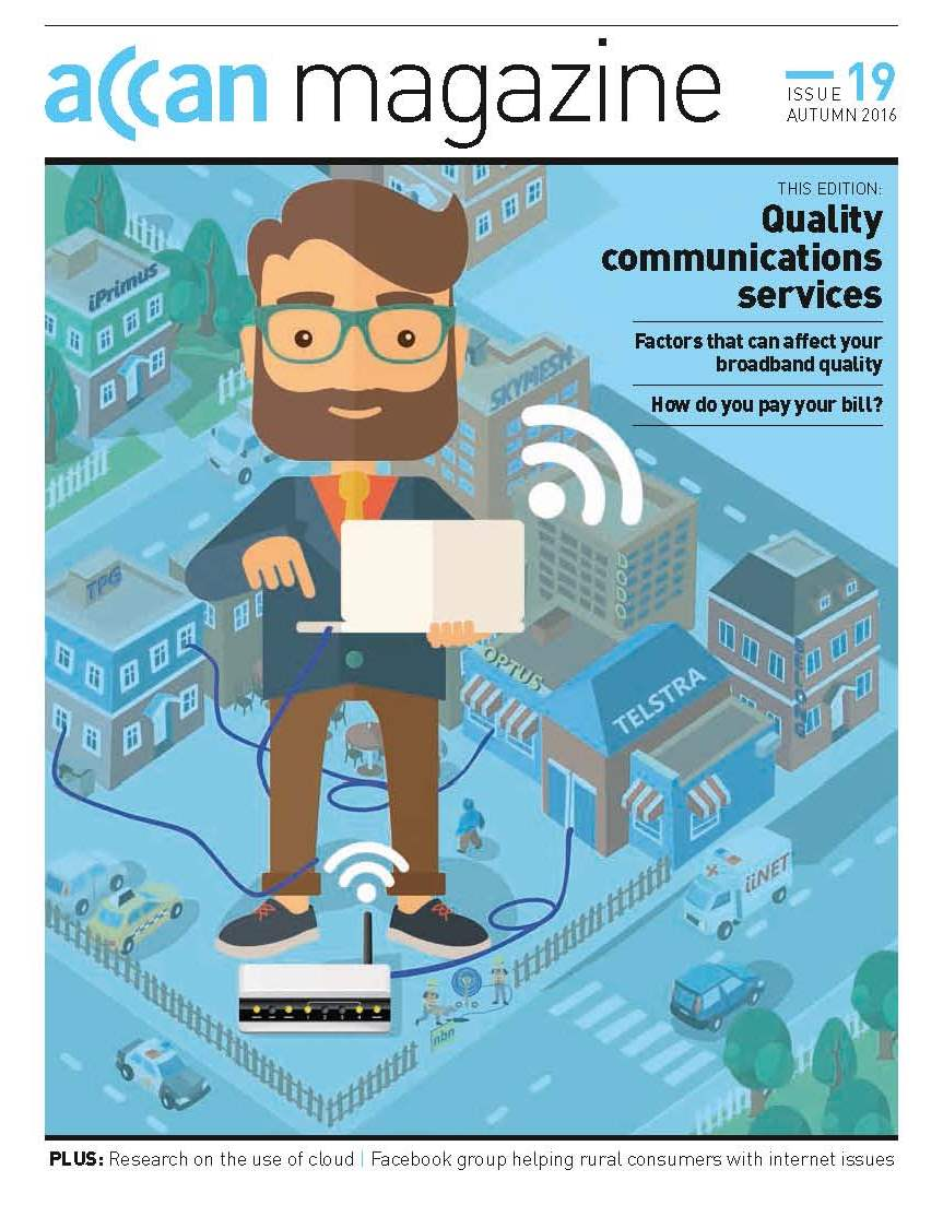 Quality communications services cover