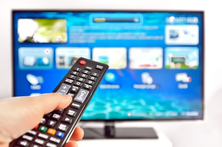 Smart TV and remote