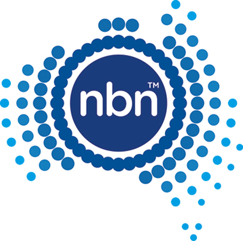 Telstra logo: Thank you nbn co for being a premium sponsor at ACCANect 2019