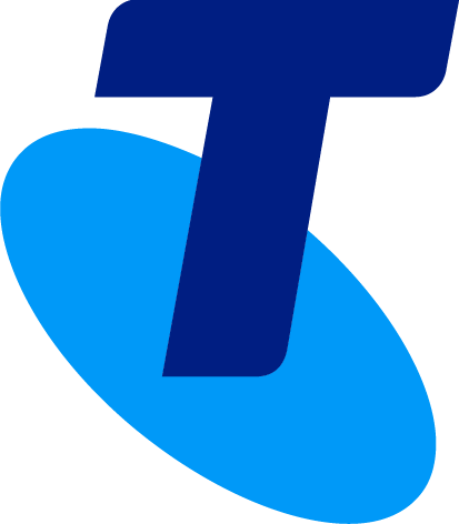Telstra logo: Thank you Telstra for being Principal sponsor at ACCANect 2019