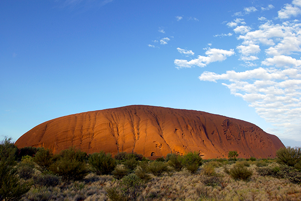 Picture of the Pitjantjatjara People's Land - Uluru