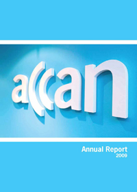 Picture of 2008-09 Annual Report cover