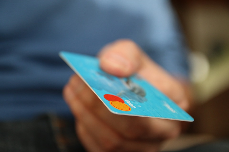 Picture of cred or debit card