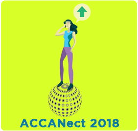 ACCANect 2018: Confidence in the connected world. Upvote with Confidence promo image