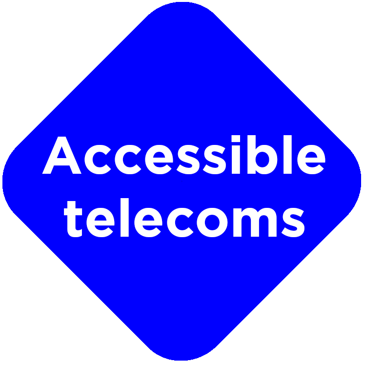 Link Icon for Accessible Telecoms as seen on Ideas Website