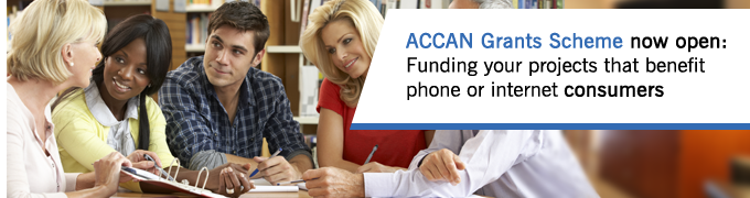 Apply for an ACCAN Grant