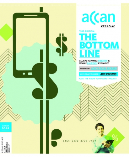 Cover picture for The Bottom Line - Summer 2012 magazine