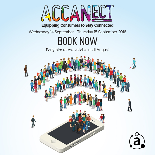 ACCANect conference logo