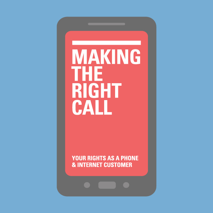 Front cover image of Making the Right Call Booklet
