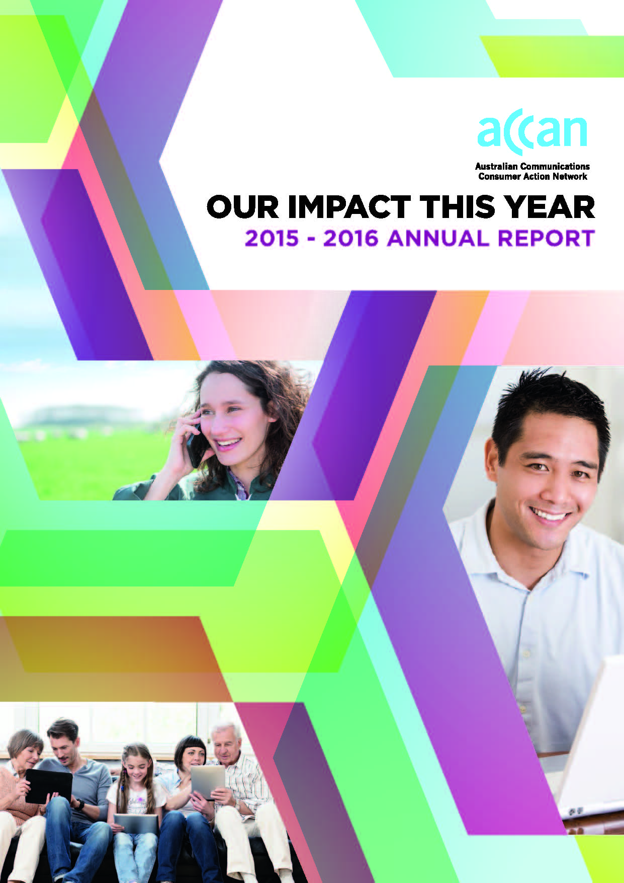2015-2016 Annual Report cover