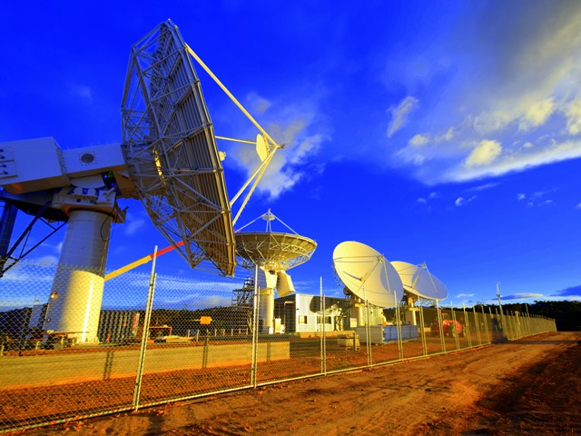 NBN satellite ground station, Wolumla, Australia