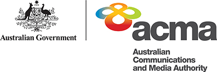 Thanks to our captioning sponsor the ACMA